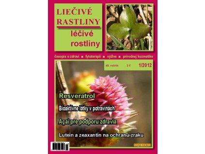 Liečivé rastliny 2012