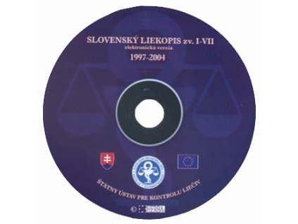 CD Slovenský liekopis I - VII