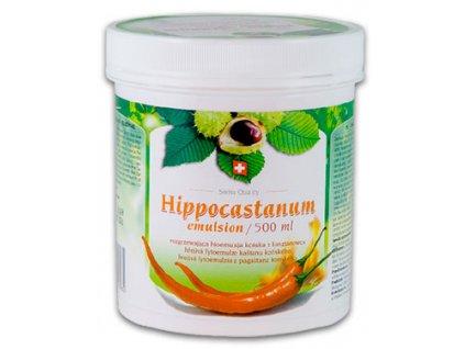 Hippocastanum emulsion 500 ml hrejivá