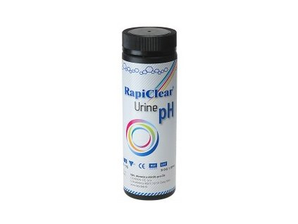 RapiClear® Urine pH - 50 strips