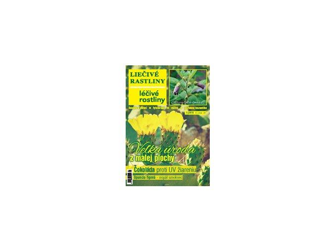Liečivé rastliny 2016 pre Českú republiku