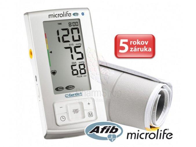microlife bp a6 bt afib automaticky tlakomer na rameno shopherba