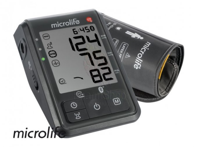 microlife bp b6 connect s bluetooth automaticky tlakomer na rameno shopherba