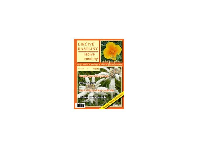 Liečivé rastliny 1/2013