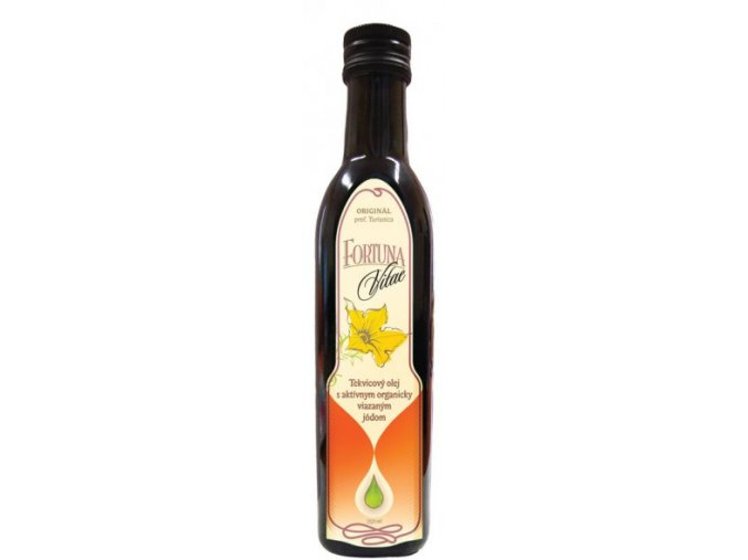 Tekvicový olej s organicky viazaným jódom