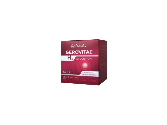 Intenzívny nočný Anti-aging krém 45 plus Gerovital H3 Evolution