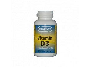 Vitamín D3 -210cps.