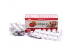 LAKTAZAN tablety s príchuťou jahody