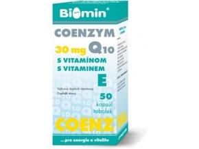 COENZYM 30 mg Q10 s vitamínom E 50 tabliet