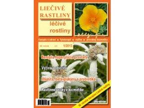 Liečivé rastliny 2013