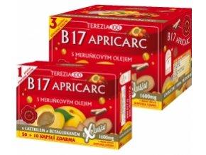 B17 Apricarc s marhuľovým olejom