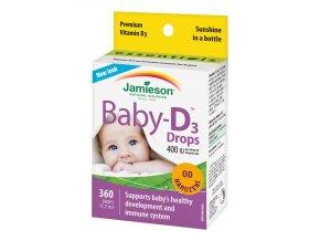 Baby-D™ Vitamín D3 400 IU kvapky