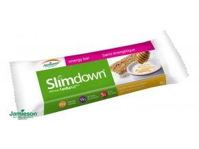 Slimdown® CardioAid™ energetická tyčinka s medovo-jogurtovou príchuťou