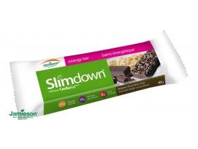 Slimdown® CardioAid™ energetická tyčinka s príchuťou belgickej čokolády