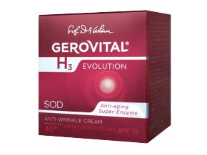 Denný intenzívny hydratačný krém proti vráskam SPF 10  Gerovital H3 Evolution