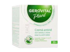 Krém proti vráskam Gerovital Plant
