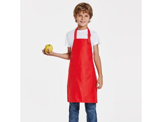 Dětská kuchyňská zástěra