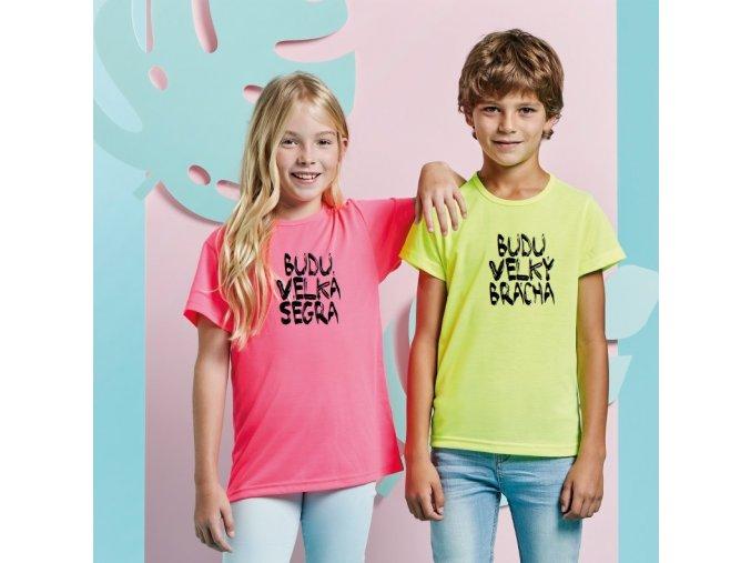 "Chlapecké tričko ""BUDU VELKEJ BRÁCHA"""