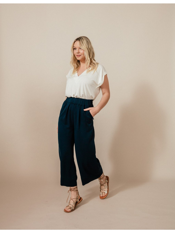 by janatini crop pants kelly navy blue 1 (Custom)