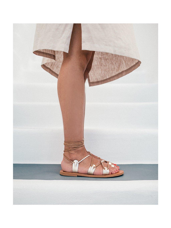 by janatini greek sandals gold 1