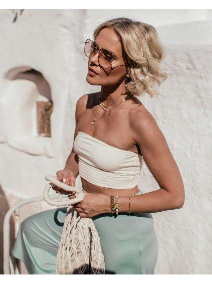 by janatini ss21 loungewear crop top vanilla 1