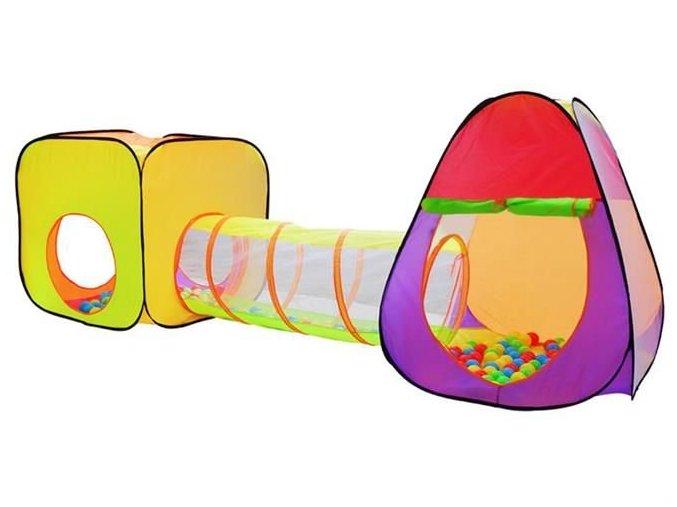 pol pl Namiot dla dzieci IGLO tunel 200szt pilek 11755 1