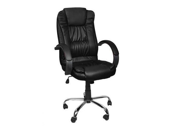 pol pl Fotel biurowy skora eko czarny MALATEC 13976 2