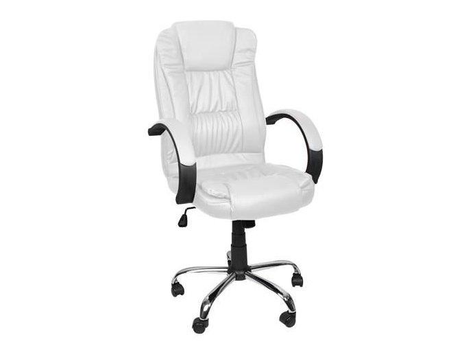 pol pl Fotel biurowy skora eko bialy MALATEC 13977 2