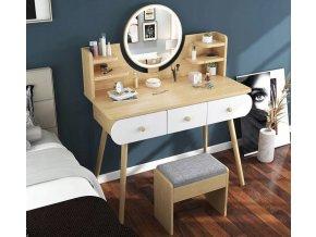 Toaletka z lustrem LED kosmetyczna SCANDI EAN 5903678515461