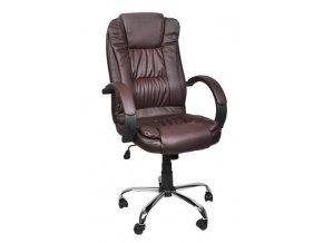 pol pl Fotel biurowy skora eko brazowy MALATEC 13978 2