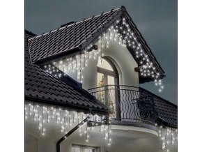 SOPLE ZEW 300 LED Lampki Choinkowe Biale FLASH Zasilanie sieciowe