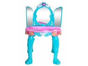 pol pl Toaletka dla dziewczynek 3 lustra niebieska 13636 3