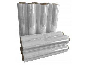 FOLIA STRETCH 3kg x 10szt BEZBARWNA XL transparent