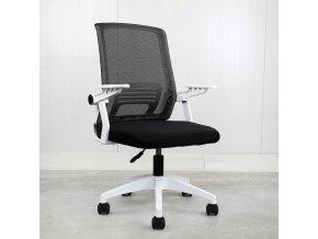 Fotel biurowy obrotowy ergonomiczny mikrosiatka Szerokosc mebla 55 cm