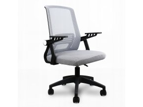 Fotel biurowy obrotowy ergonomiczny mikrosiatka Kolor obicia czarny (1)