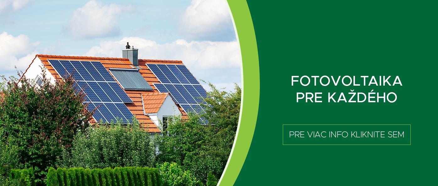 Fotovoltaika pre každého
