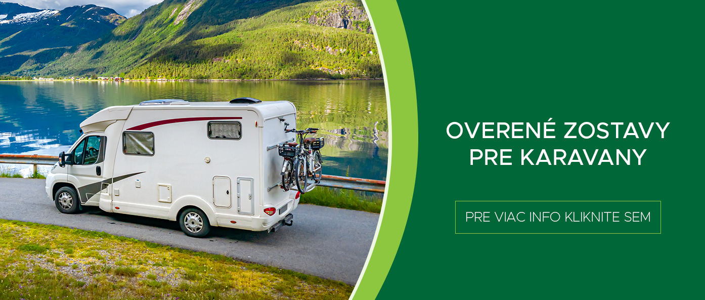Overené zostavy pre Váš karavan