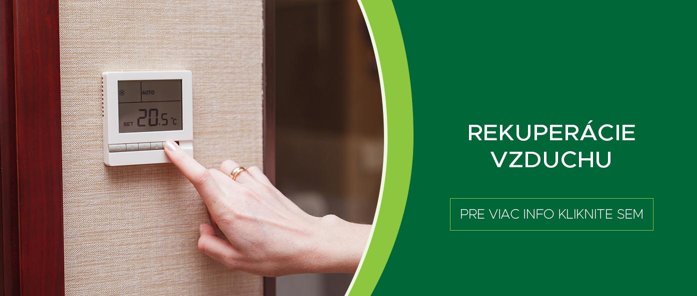 Kvalitná rekuperácia pre Váš domov