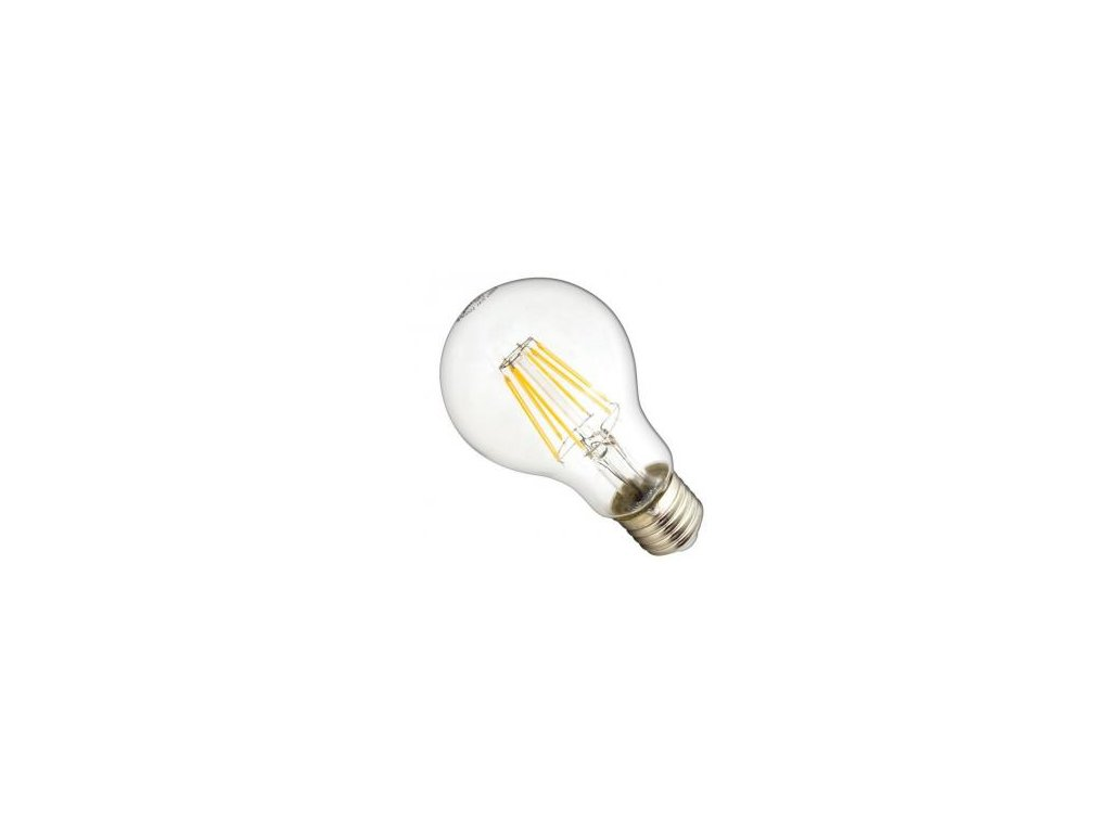 led ziarovka e27 a60 g cos filament 8w ccd 720lm ww
