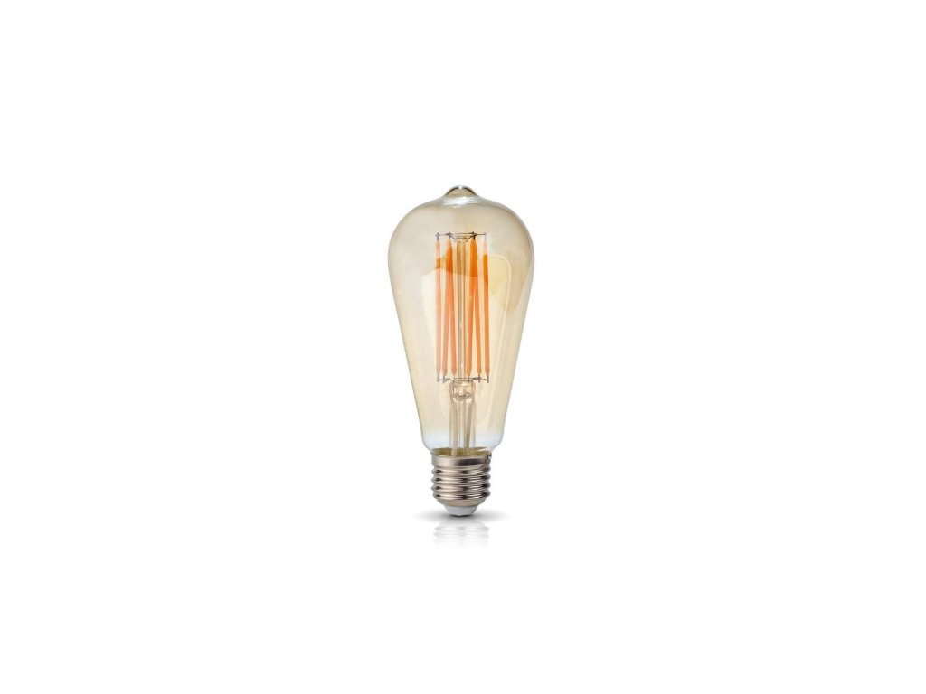 LED ŽIAROVKA 6W, E27, 3000K, 230V RETRO LED FILAMENT