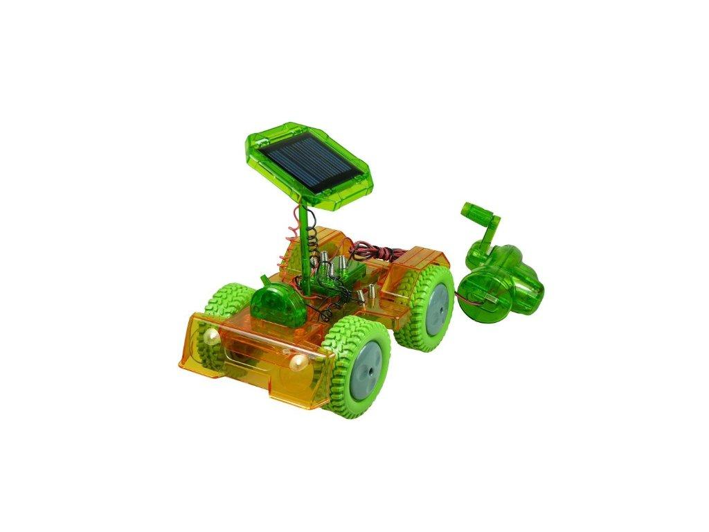 Solárne autíčko s dynamom POWERplus Grasshopper