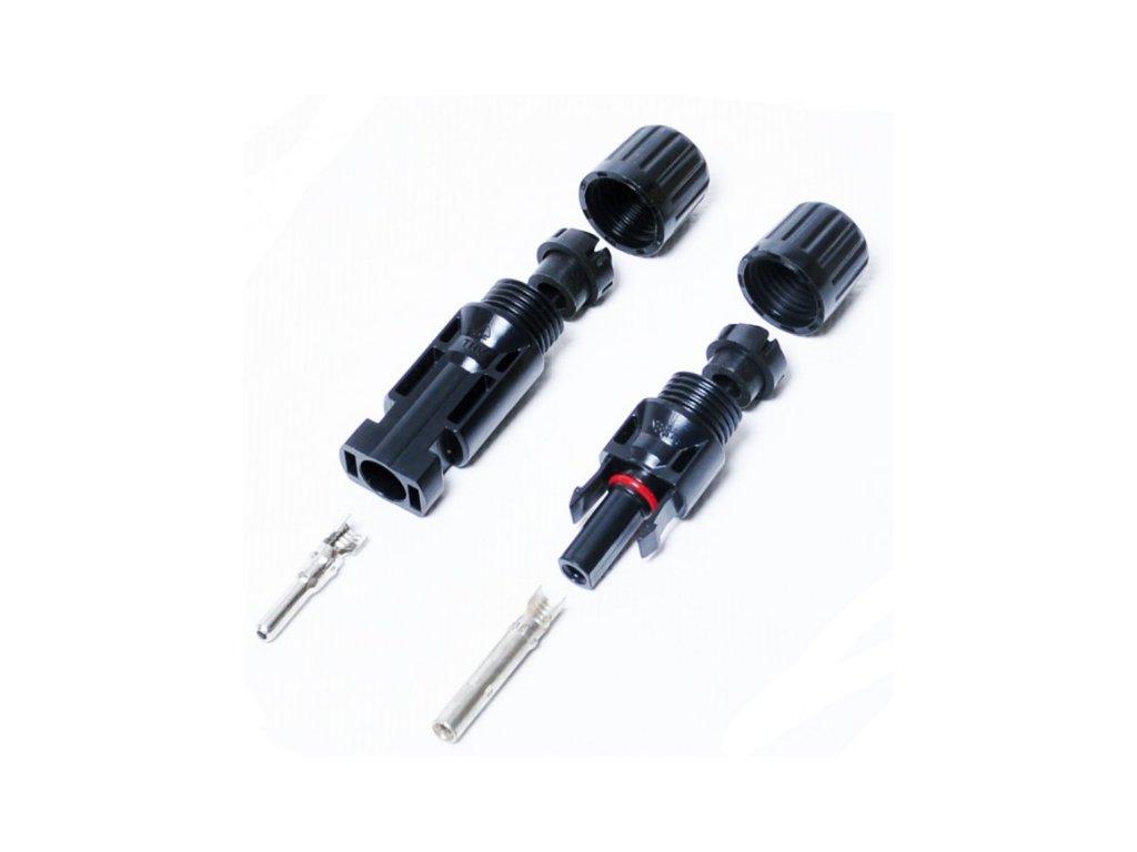 Solárne konektory MC4 2ks pár