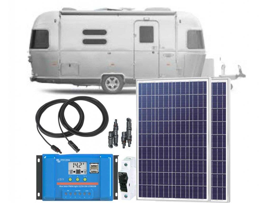 7327 O solarni sestava victron energy caravan 200wp