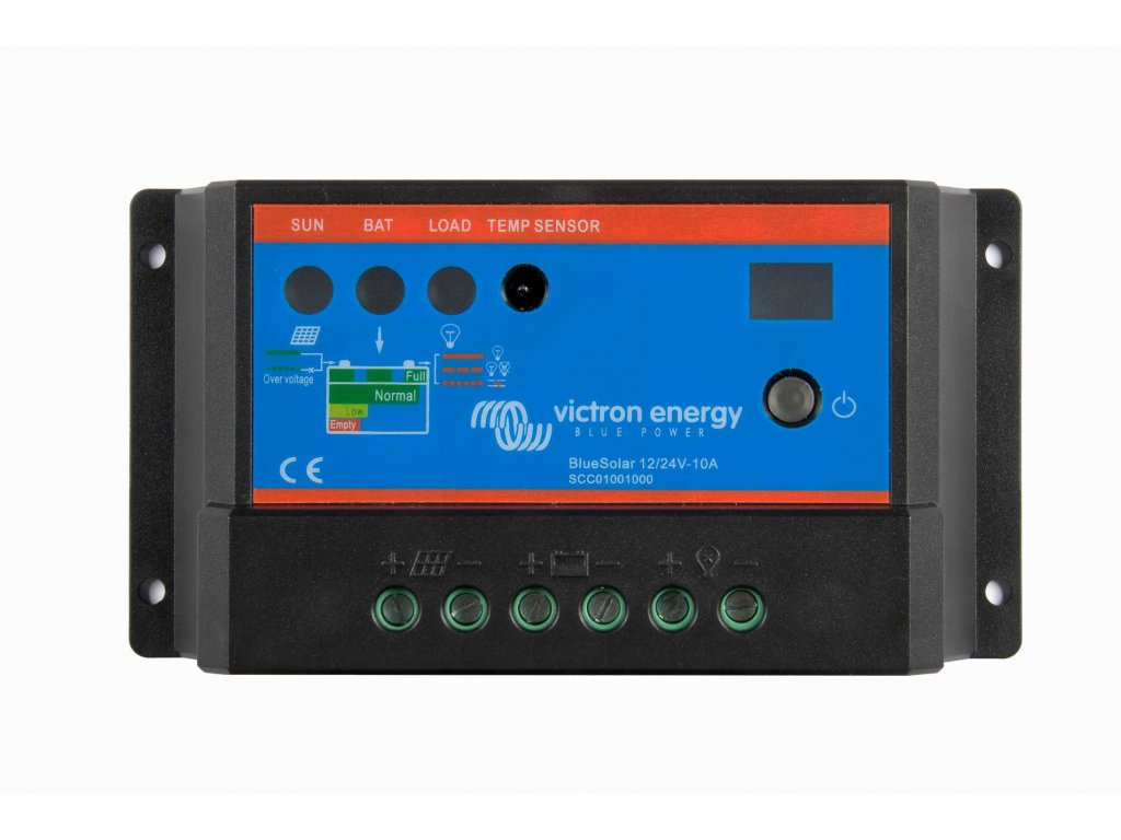 6352 O victron energy pwm solarni regulator 10a