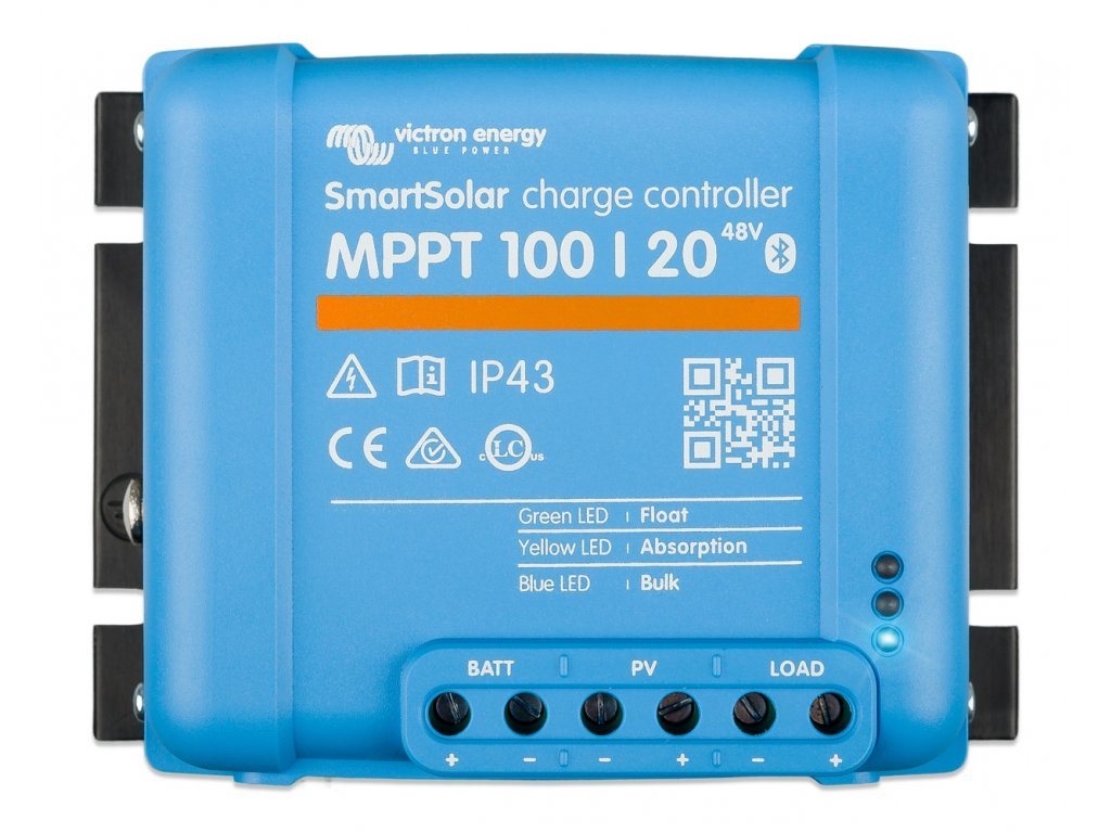 6804 O victron energy smartsolar mppt 100 20 48v top