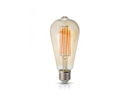 LED ŽIAROVKA 6W, E27, 3000K, 230V RETRO LED FILAMENT