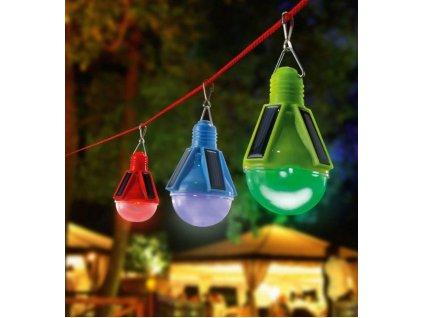 Solárne závesné LED svetlá Esotec Partytime 102069 balenie 3ks