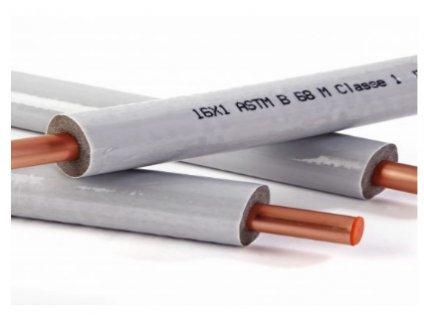 Medené potrubie  Clim Platinum 3/8 hrúbka steny 1 mm