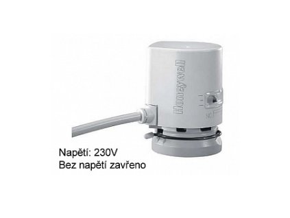 Termoelektrický servopohon 230 V HONEYWELL MT4-230-NO