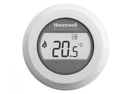 Bezdrôtový jednozónový priestorový termostat Honeywell Round T87RF2083